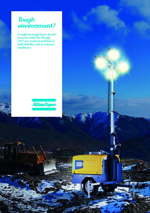 Atlas Copco - Lighting Tower