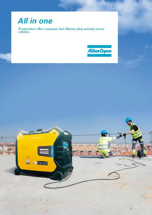 Atlas Copco - Small Portable Generator